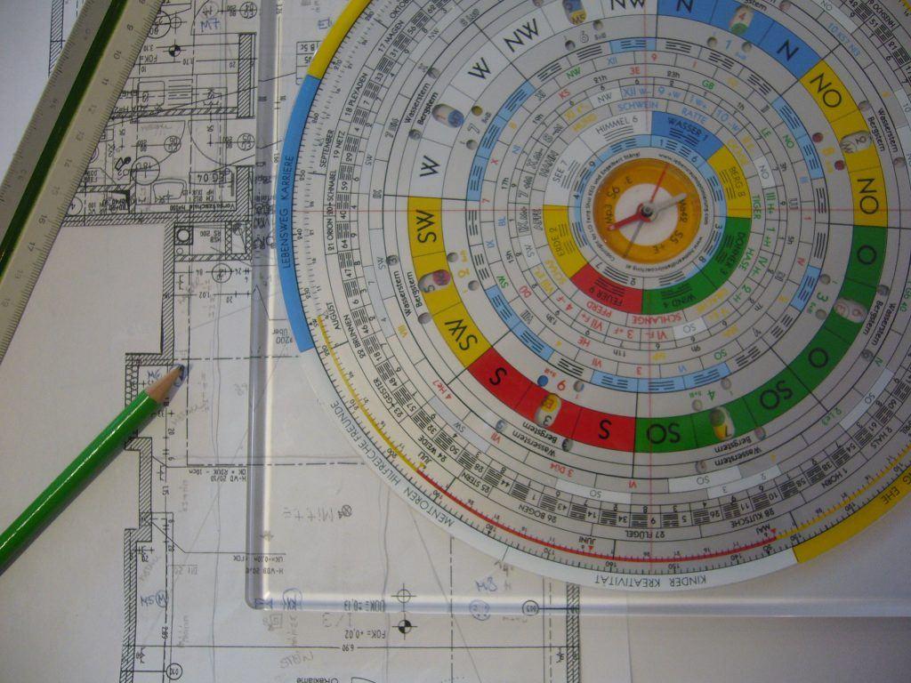 Feng-Shui Kompass