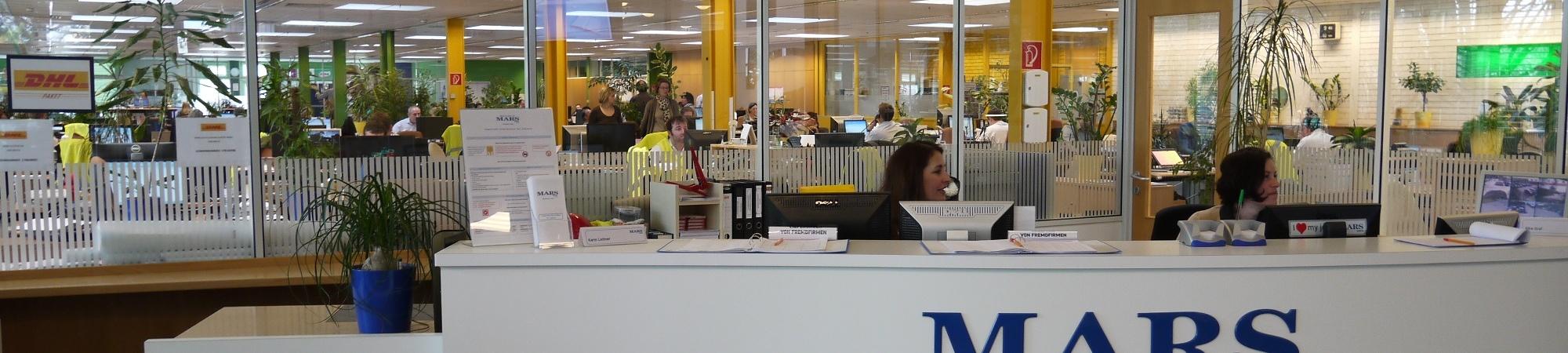 Büroempfang