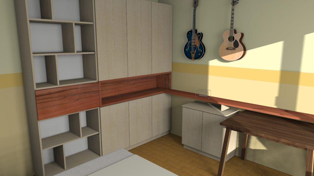 Arbeits+Musikzimmer